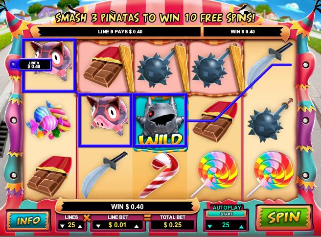 Mad Piñatas Online Pokies Game Guide