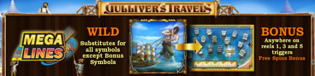 Gulliver's Travels Net Pokies Game Guide