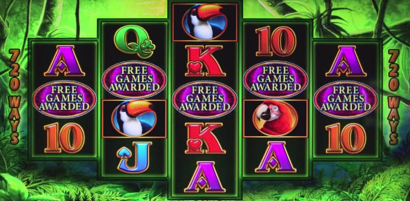 Prowling Panther IGT online slot review & free Play