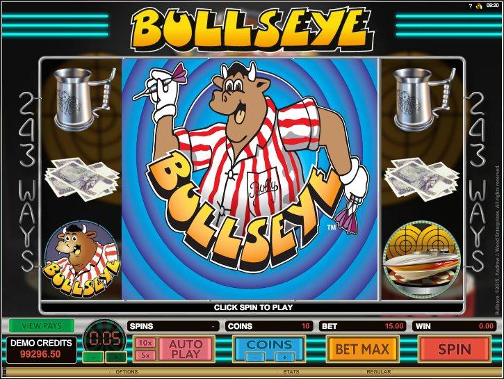 Bullseye Free Poker Machine Review