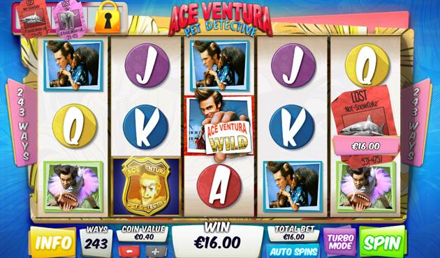 Ace Ventura Pet Detective Free Slots