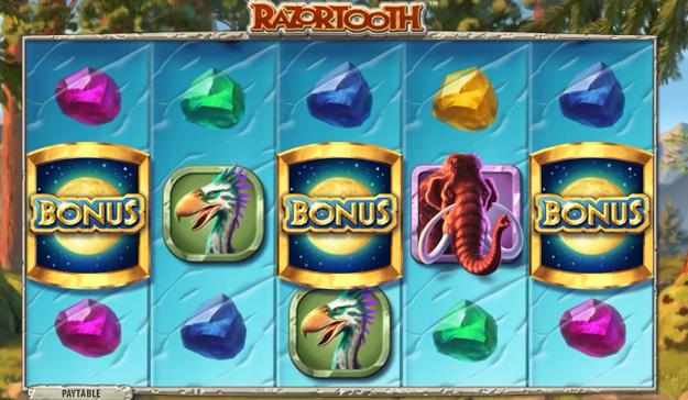 Play the Free Quickspin Razortooth Poker Machine
