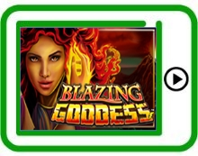 free blazing goddess ipad, iphone, android slots pokies