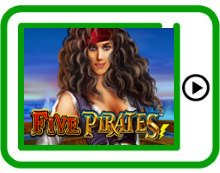 free five pirates ipad, iphone, android slots pokies