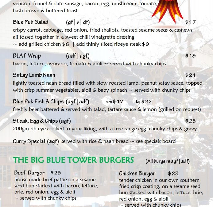 The Blue Pub Methven Review & Guide