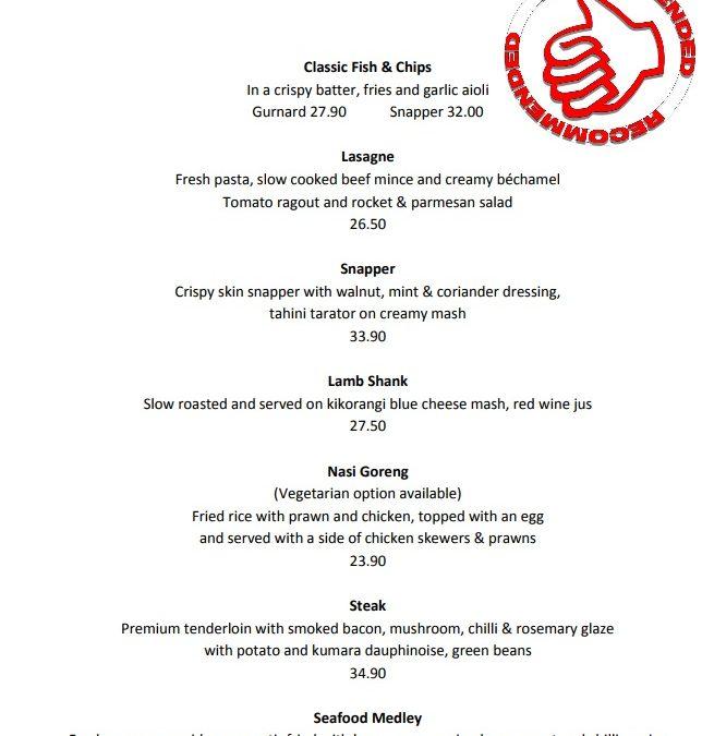 The Landing Restaurant & Bar Onehunga Review