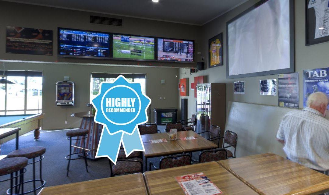 Kuripuni Sports Bar and Tab Review