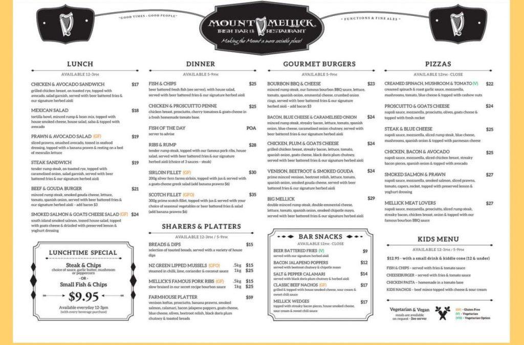 Mount Mellick Irish Bar & Restaurant Review