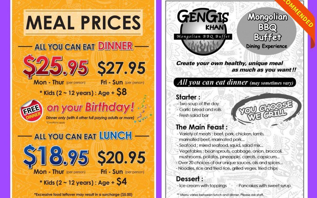 Gengis Khan Henderson Mongolian Restaurant Review
