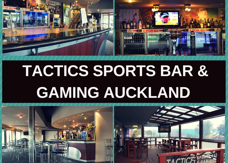 Tactics Sports Bar Auckland Review