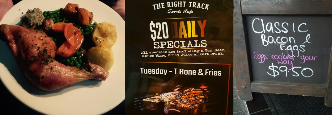 Right Track Sports Café Auckland Review