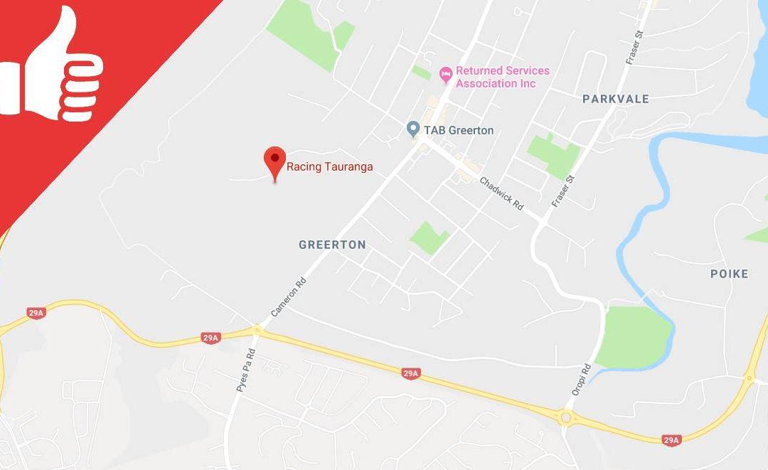 Racing Tauranga Venue Guide