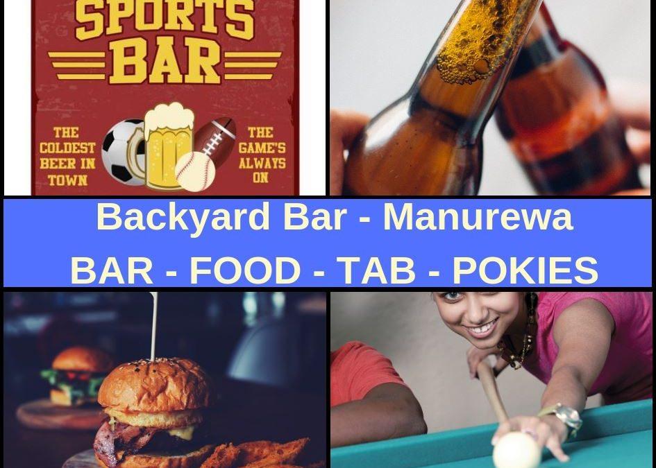 Backyard Bar Manurewa Guide