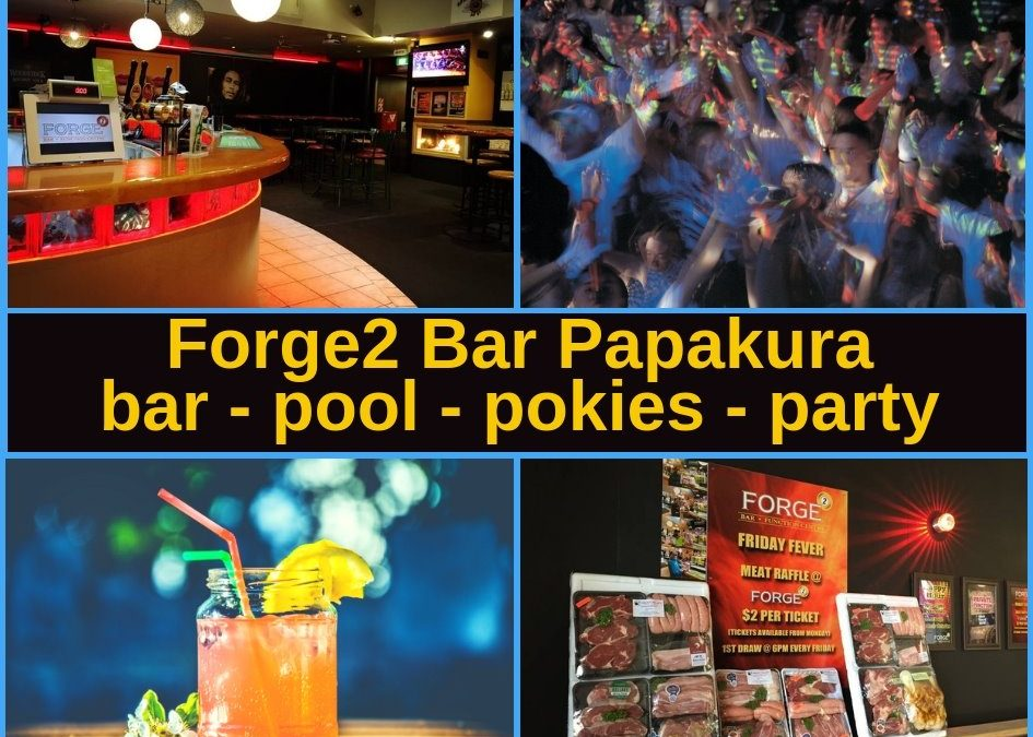 Forge2 Bar Papakura Guide
