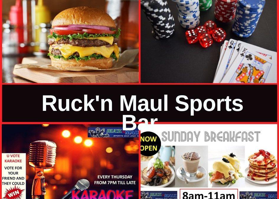 Ruck 'n' Maul Sports Bar Rotorua Guide