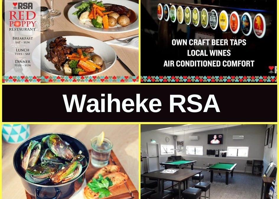 Waiheke RSA Guide