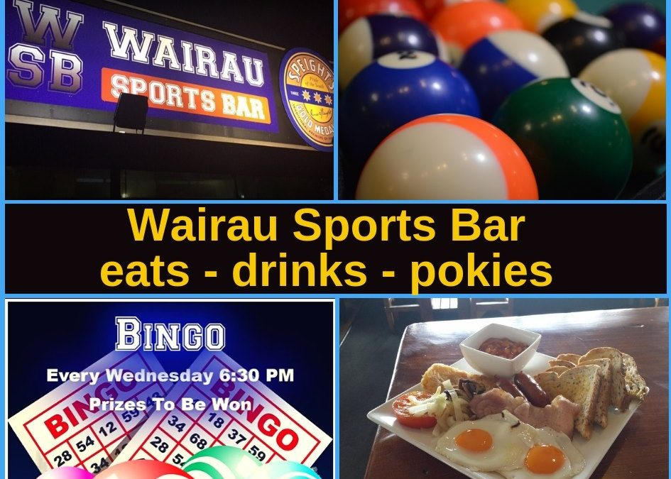 Wairau Sports Bar Glenfield Guide