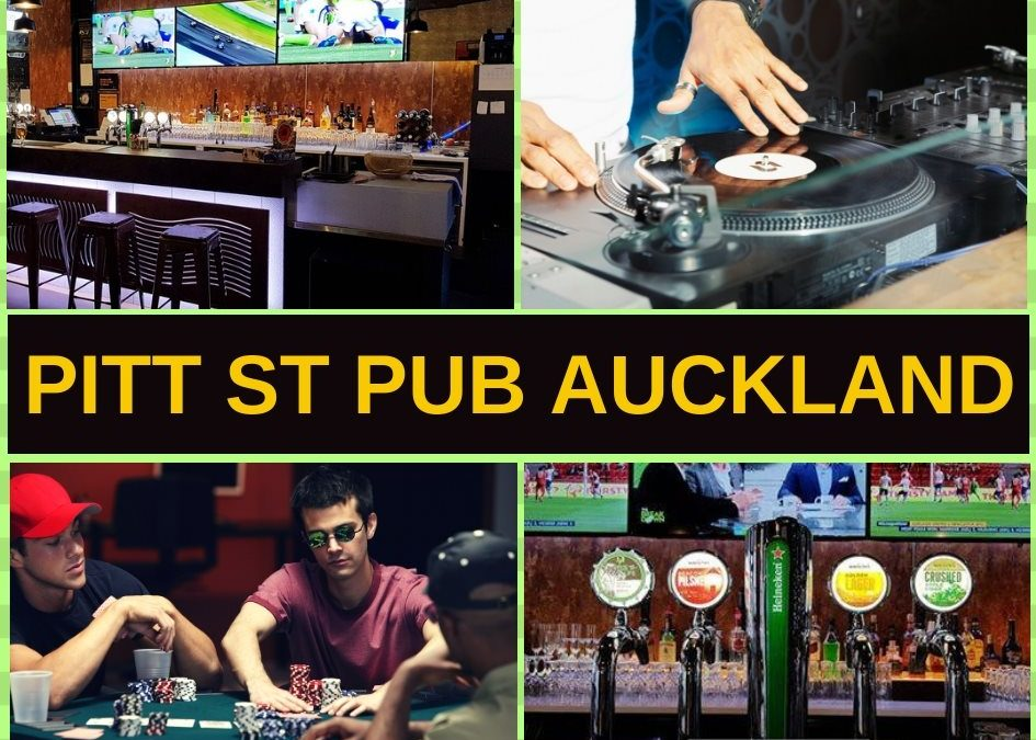 Pitt Street Pub Auckland Guide