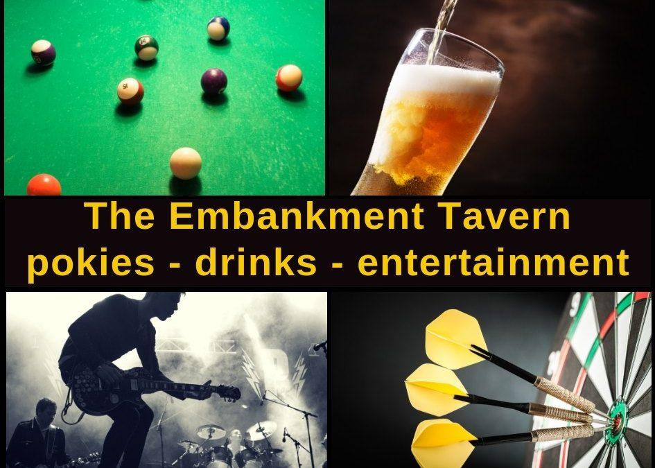 Embankment Tavern Christchurch Guide