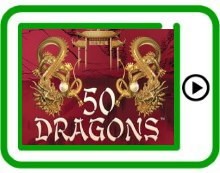 50 Dragons free pokies